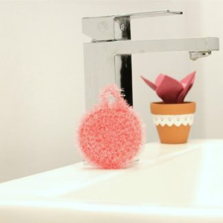 la capitaine crochete exfoliating sponge small reusable