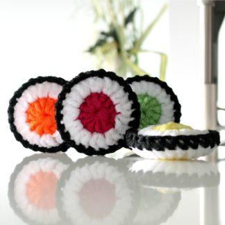 tampon à récurer sushi