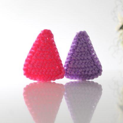 triangle scrubbie scrubby scouring pad la capitaine crochete reusable