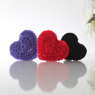 la capitaine crochète reusable scouring pad scrubby heart