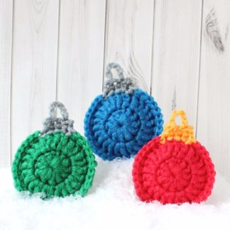 scouring pad scrubby scrubbies scrubber la capitaine crochète christmas ornament