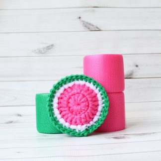 la capitaine crochète diy kit scouring pads watermelon round candy