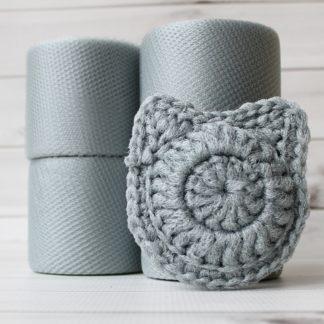la capitaine crochete crochet diy kit cat scouring pads scrubby scrubbies small grey