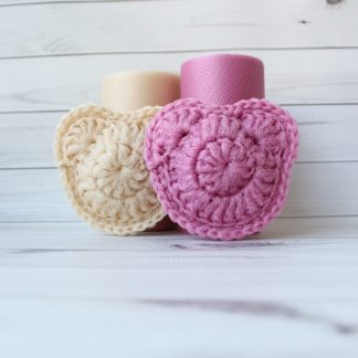 la capitaine crochète ensemble créatifs crochet tampons à récurer ouson romance beige