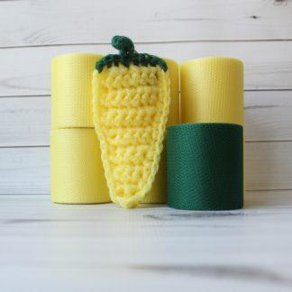 la capitaine crochète ensemble créatifs crochet tampons à récurer piment jaune citron