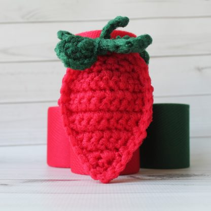 la capitaine crochète ensemble créatifs crochet tampons à récurer fraise