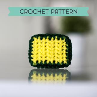 la capitaine crochète crochet pattern scouring pad scrubbies scrubby scrubber rectangle