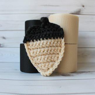 la capitaine crochète grand ensemble créatif tampons à récurer à crocheter gland de chêne